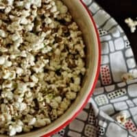 Healthy Chipotle Lime Popcorn