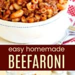 Homemade Beefaroni Recipe With 5