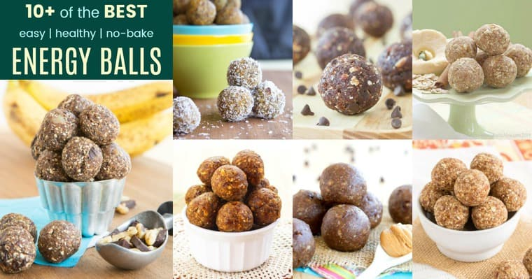 10+ Easy Recipes for No-Bake Energy Balls as Healthy Snacks