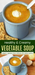 Best Soup for Colds Pinterest Collage