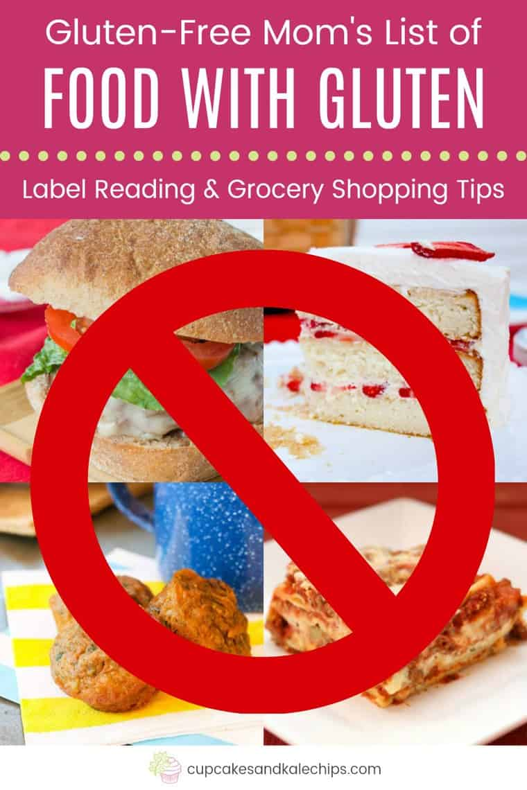 Foods that Contain Gluten with Label Reading and Grocery Shopping Tips