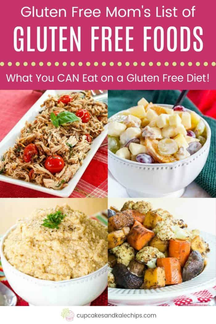 Gluten Free Food List