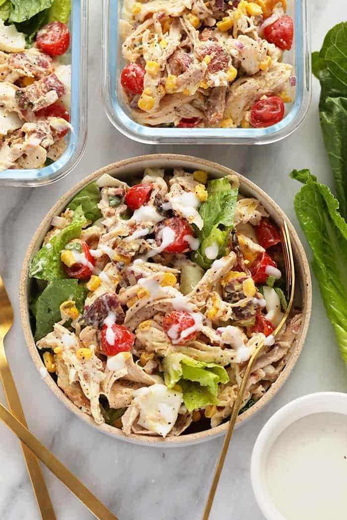 Rotisserie Chicken Cobb Salad
