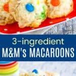 Flourless MMs Macaroons Pinterest Collage