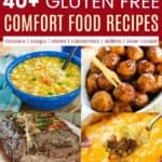 Best Gluten Free Comfort Foods Pinterest Collage