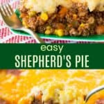 Ground Beef Shepherds Pie Recipe Pinterest Collage