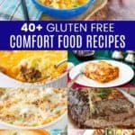 Gluten Free Comfort Food Recipes Pinterest Collage