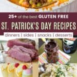 Best Gluten Free St Patricks Day Recipes Pinterest Collage