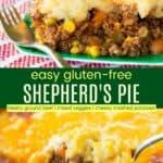 Easy Gluten Free Shepherds Pie Pinterest Collage