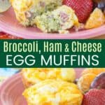 Gluten Free Breakfast Egg Muffins Pinterest Collage