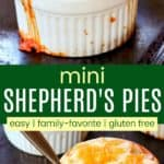 Mini Individual Shepherds Pies Recipe Pinterest Collage