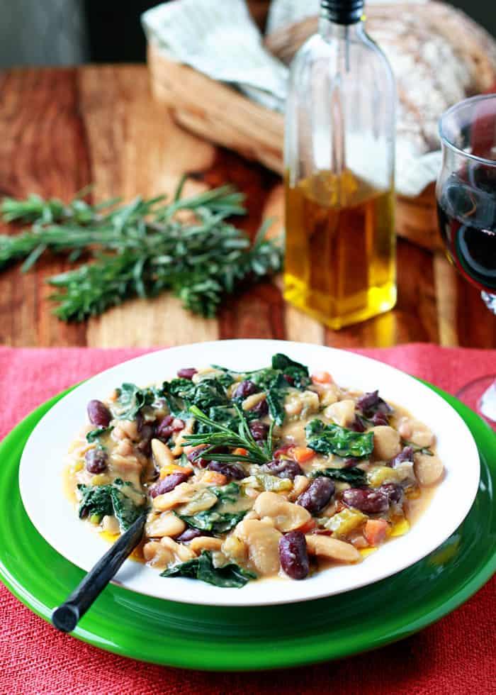 Hearty Tuscan Bean Stew