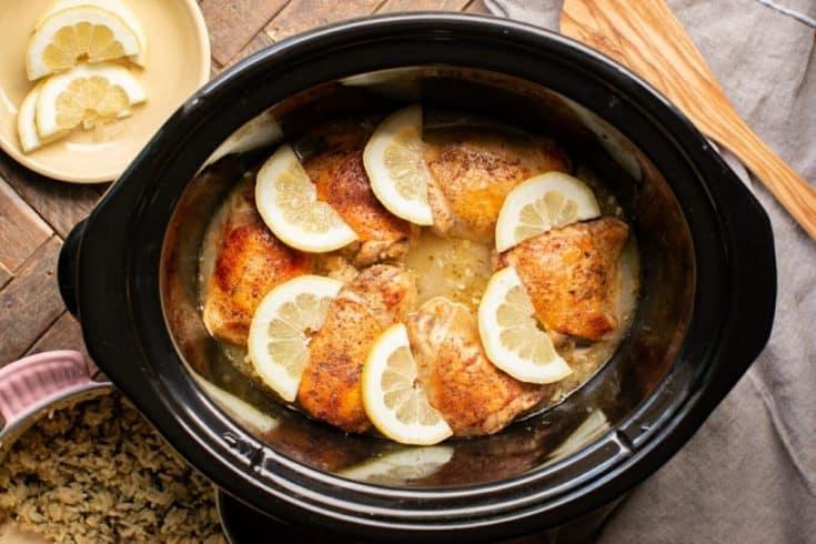 Lemon Pepper Chicken Thighs