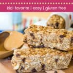 These granola bars are inspired by banana nut bread and sure to satisfy the whole family!