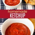 DIY Ketchup Pinterest Collage