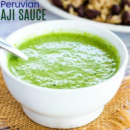 Peruvian Aji Sauce Recipe featured image