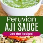 Perivuan Green Sauce Recipe Pinterest Collage