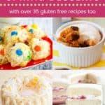 Best Spring Dessert Recipes Pin Template Dark