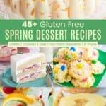 Gluten Free Dessert Recipe Collection Pinterest Collage
