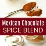 Mexican Chocolate Spice Mix Pinterest Collage