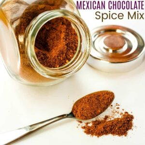 Mexican Chocolate Spice Mix with title text