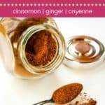 Mexican Chocolate Spice Mix Pin Template Dark