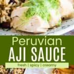 Aji Sauce Recipe Pinterest Collage