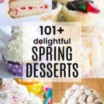 Best Spring Desserts Pin Template Dark