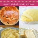 Ukrainian Easter Recipes Pin Template Dark