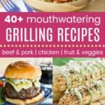 Best Grilling Recipes Pinterest Collage Template