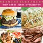 40 Mouthwatering Grilling Recipes Pin Template Dark