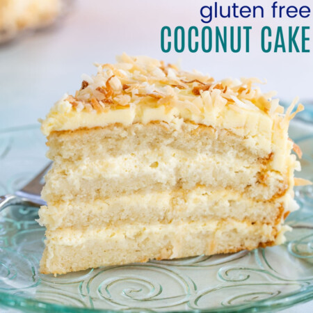 Gluten Free Coconut Cake Recipe Featured Image