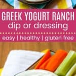 Greek Yogurt Ranch Dressing or Dip Pin Template Long