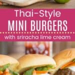 Mini Thai Burgers Pin Template Long
