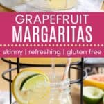 Grapefruit Margaritas Pin Template Long