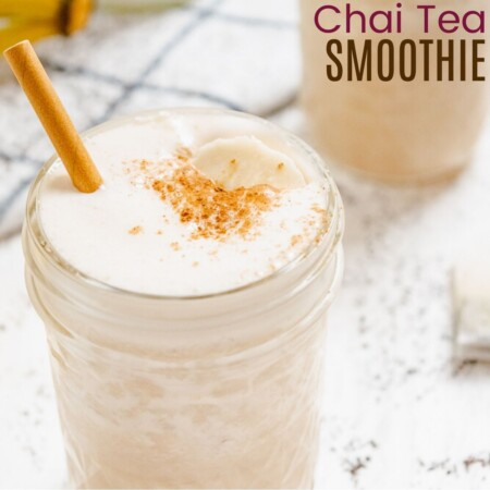 Chai Tea Smoothie square featured image