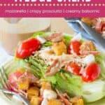 Italian Romaine Wedge Salad Pin Template Dark