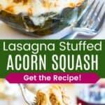 Lasagna Stuffed Acorn Squash Pin Template Long