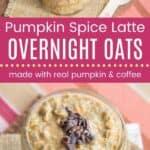 Pumpkin Spice Latte Overnight Oats Pin Template Long