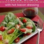 Romaine Wedge Salad Pin Template Dark
