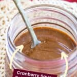 Cranberry Balsamic Vinaigrette Pin