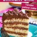 Gluten Free Birthday Cake Pin