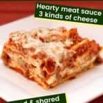 Worlds Best Homemade Lasagna Pin