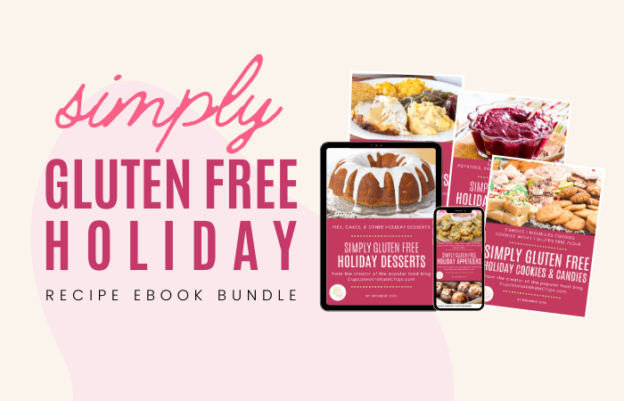 Simple Gluten Free EBook covers displayed on tablets and devices