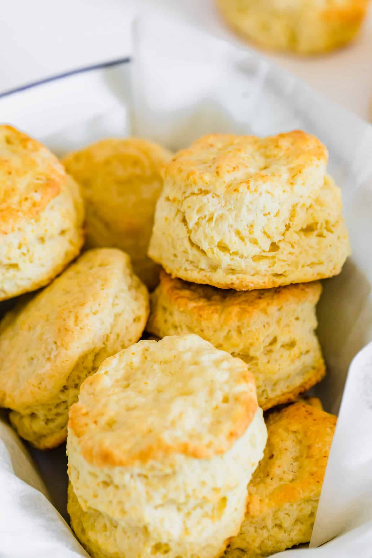 A Close-Up Shot of Homemade Sweet Biscuits in a Bowl