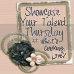 A Light Pink Graphic Advertising Showcase Your Talent Thursday